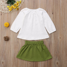Load image into Gallery viewer, Baby Toddler Girl Clothes Tops & Skirts Autumn Outfit