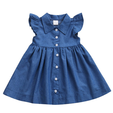 Princess Summer Jeans Sundress
