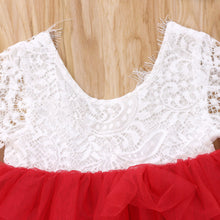 Load image into Gallery viewer, Elegant Lace Flower Backless Party Dress