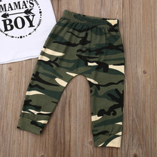 Load image into Gallery viewer, Mama's Boy Baby Clothing Set