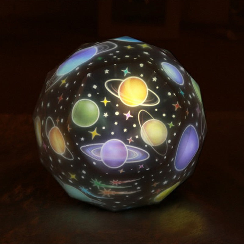 Planets Projection Lamp