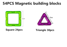 Load image into Gallery viewer, Construction Model Magnetic Building Blocks Tiles