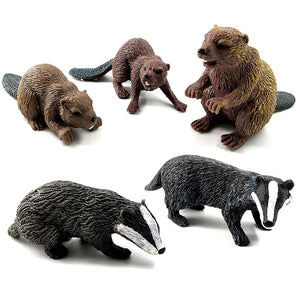 Simulation Forest Wild Animal PVC Toy Figures