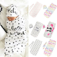 Load image into Gallery viewer, Newborn Baby Infant Summer Blanket Wraps