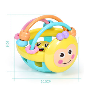 Soft Rubber Dumbbell Ball Educational Toy