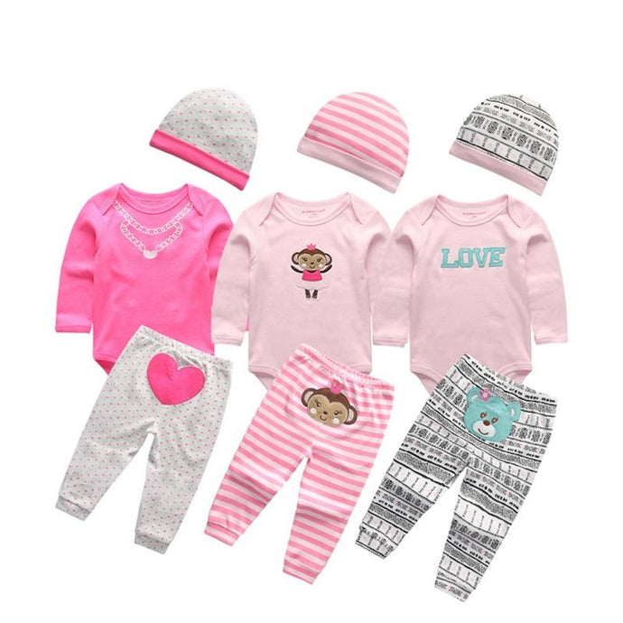 Newborn Baby Cotton Clothes