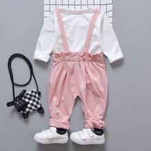 Load image into Gallery viewer, Baby Girl Jumper Pants 2pc Outfit Set