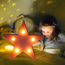 Load image into Gallery viewer, Star Shaped LED Night Light Table Lamp