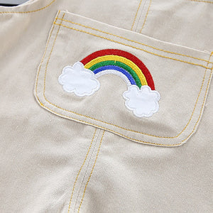 Rainbow Striped Baby Boys Casual Fashion