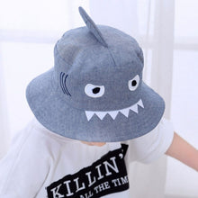 Load image into Gallery viewer, Summer Cute Shark Bucket Hats