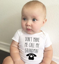 Load image into Gallery viewer, Baby Statement Romper