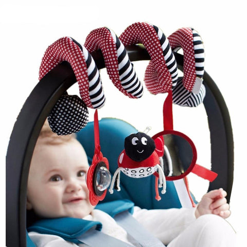 Spiral Bed & Stroller Toy Set