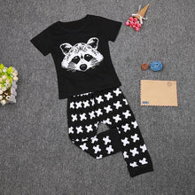 Load image into Gallery viewer, Baby Fox Cotton Tops T-shirt+Pants Leggings