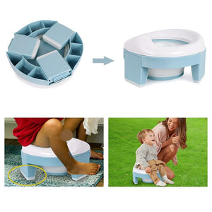 Baby Pot Portable Silicone Training Seat