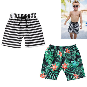 Floral and Striped Trunks
