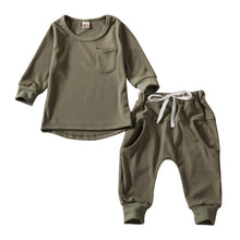 Load image into Gallery viewer, Toddler Tops & Pants Tracksuits Outfits Sets