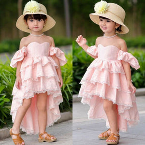 Baby Girl Off Shoulder Party Sundress