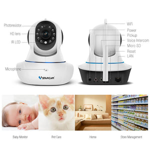 VStarcam HD Wifi IP camera with night vision