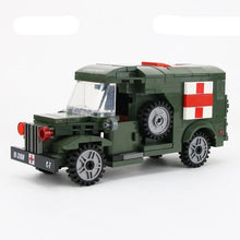 Load image into Gallery viewer, Military Army Ambulance Building Blocks Toy