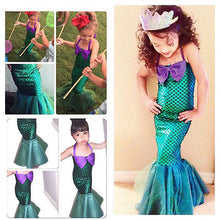 Load image into Gallery viewer, Little Ocean Princess Costume Party Outfit