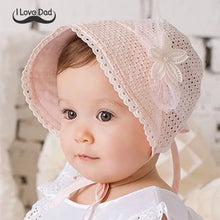 Load image into Gallery viewer, Lace-up Baby Lady Hat