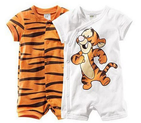 Baby Tigger Rompers