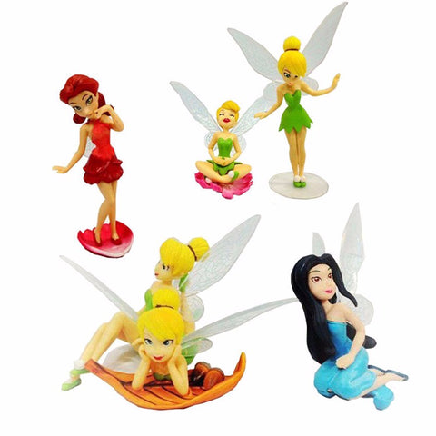 6 Flower Fairies Decoration Figures