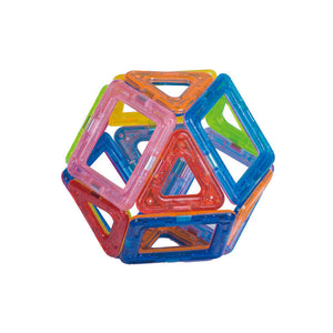 Construction Model Magnetic Building Blocks Tiles