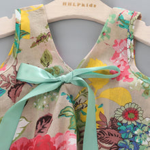 Load image into Gallery viewer, Summer Floral Printed Sleeveless Baby Vest Tops +Shorts