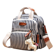 Load image into Gallery viewer, Multifunctional Fashion Diaper Backpack