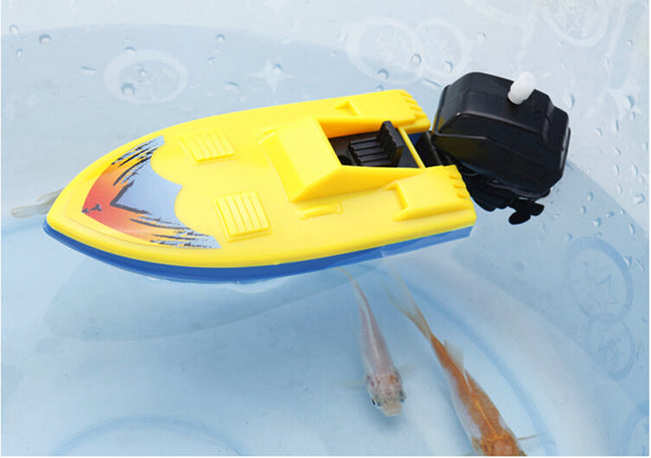 Wind Up Boat Bath Toy