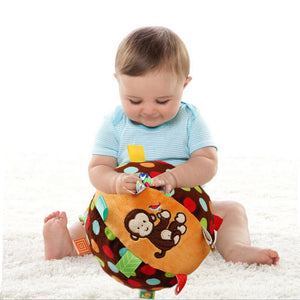 Baby Plush Teething Ball