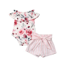 Load image into Gallery viewer, Sweet Little Girl Summer Clothes Set