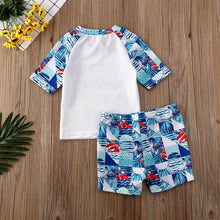 Load image into Gallery viewer, Summer Boy Baby Swimwear Set