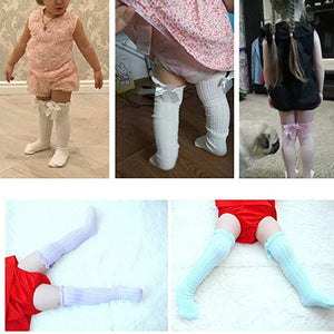 Baby Girl Stockings Spring Knee High Socks