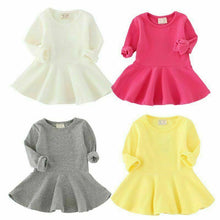 Load image into Gallery viewer, Long Sleeve Dress Princess Party Skirt