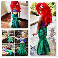 Load image into Gallery viewer, Little Sea Princess Costume Dress