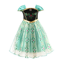 Load image into Gallery viewer, Princess Baby Green Dress