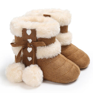 Infant Girls Winter Warm Snow Boots Shoes