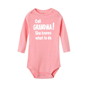 Call Grandma She Knows What To Do Unisex Romper Jumpsuit
