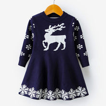 Load image into Gallery viewer, Christmas Themed Winter Dress