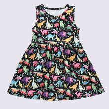 Load image into Gallery viewer, Fashion Letter Print Dovetail Summer Dress