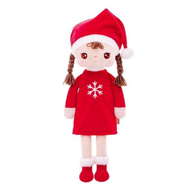 Cute Little Girl Doll Plush Stuffed Toy