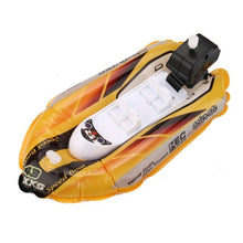 Load image into Gallery viewer, Bath Toys for Children Mini Inflatable Yacht Boat