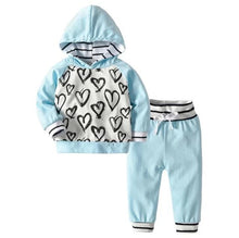 Load image into Gallery viewer, Cute Hearty Tracksuit Set