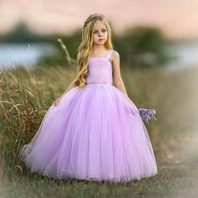Load image into Gallery viewer, Sweet Princess Tulle Long Kids Dresses