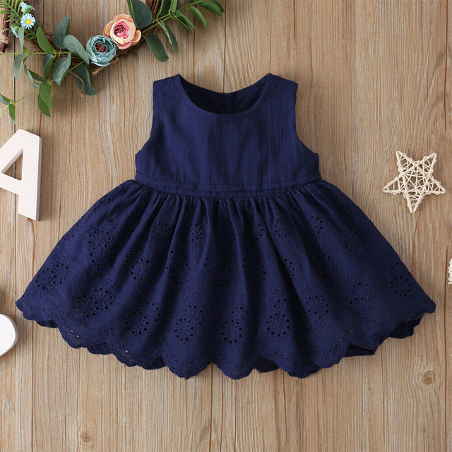 Adorable Summer Sleeveless Princess Tutu Dress