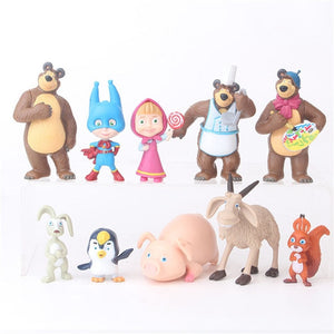 Toy Figure Dolls Set