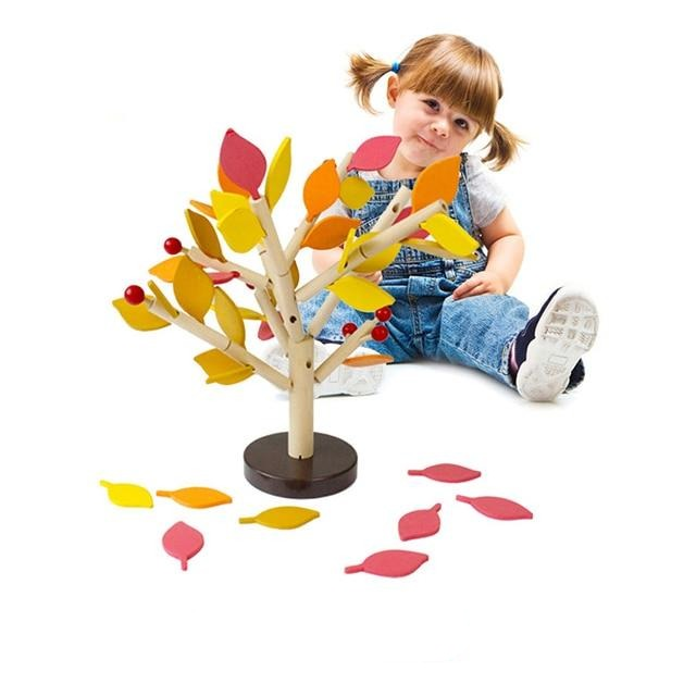 Montessori Wooden Assembled Tree Educational Toy