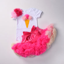 Load image into Gallery viewer, Baby Girls Birthday outfit